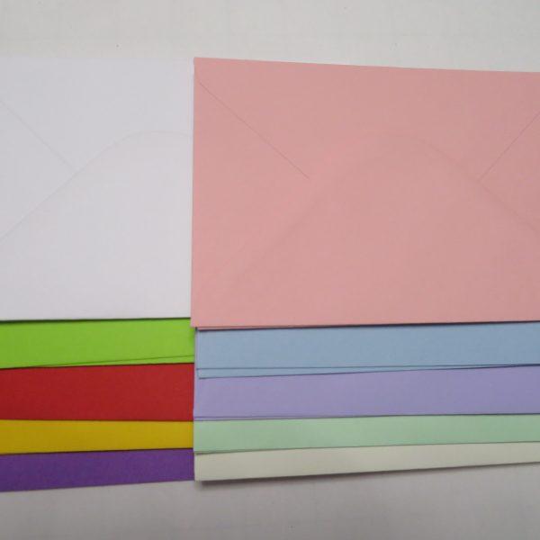 A6 assorted envelopes