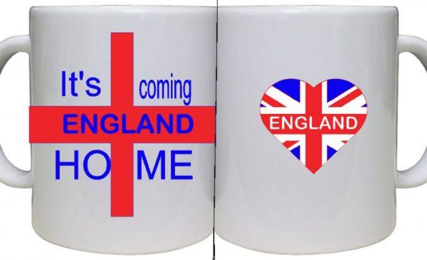 Personalised England Mug